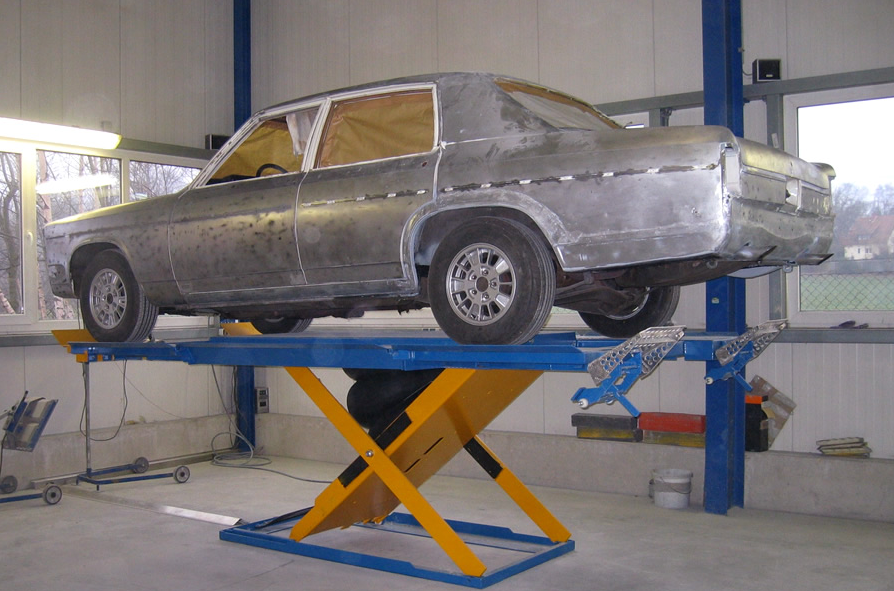 Restauration Opel Admiral